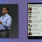 Google Hangouts converstations