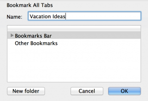 Bookmark All Tabs