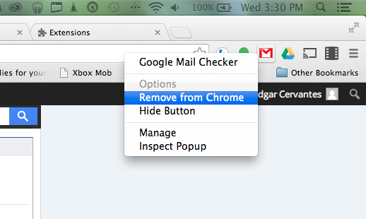 hide-delete-chrome-extensions