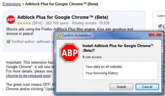 adblock plus to whitelist approved ads automatically google