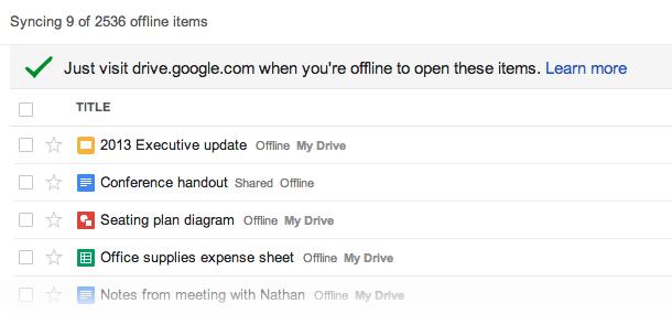 offline screenshot