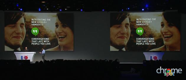 Google Hangouts IO 2013