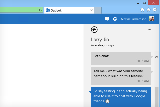 outlook-google-talk