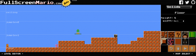 full screen mario 3
