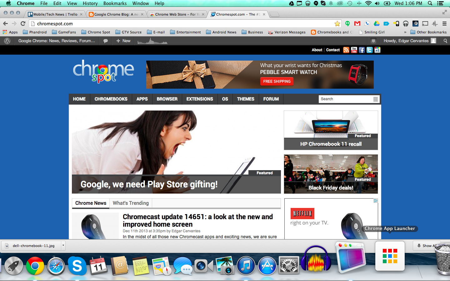 Chrome Apps and App Launcher now available for Mac! | Google