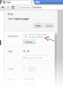chrome-canary-printer-status
